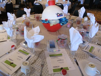 Brainerd Lakes Chamber Annual Dinner Showcase Table