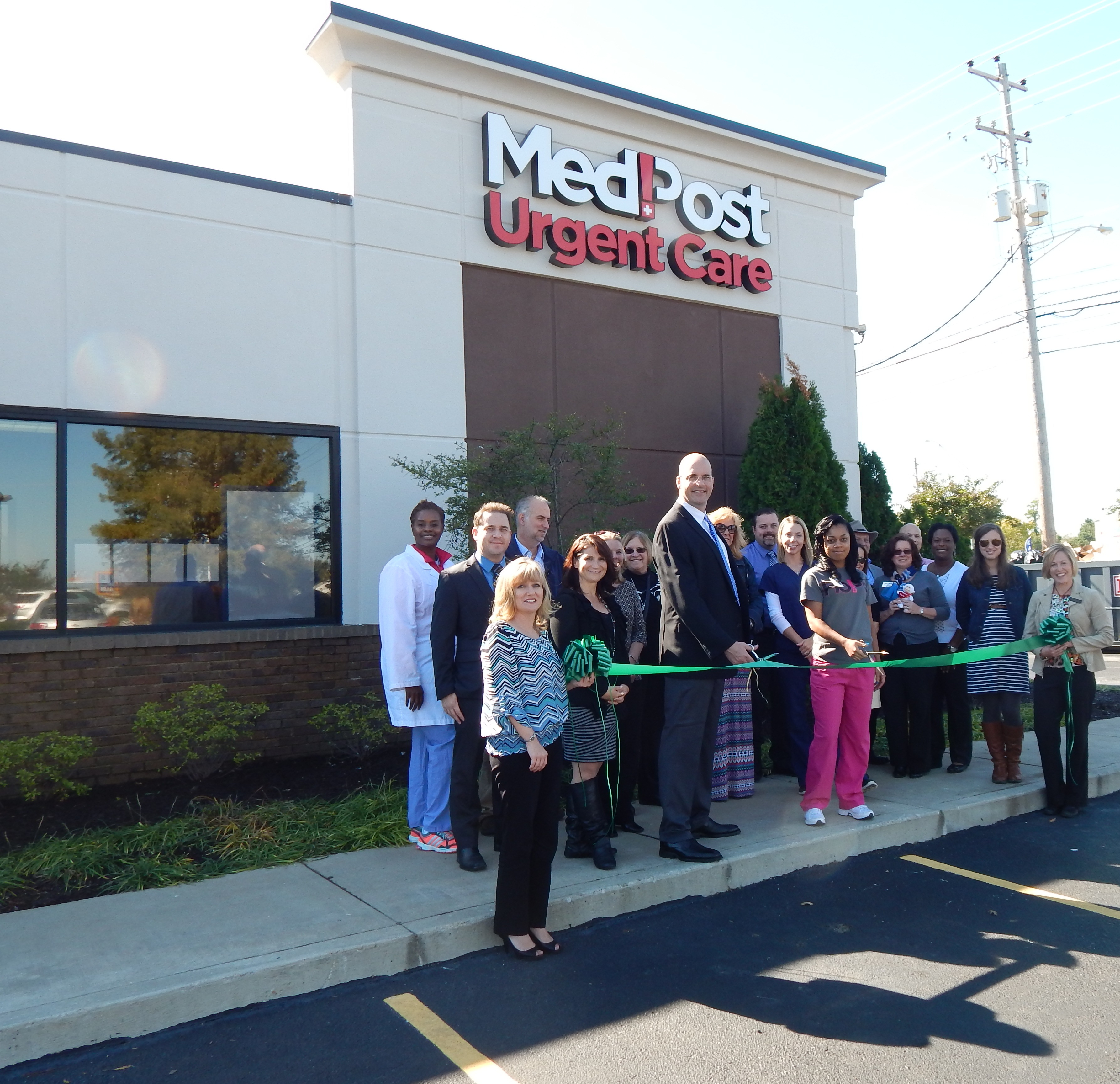 Med Post Urgent Care Ribbon Cutting 10 30 News The