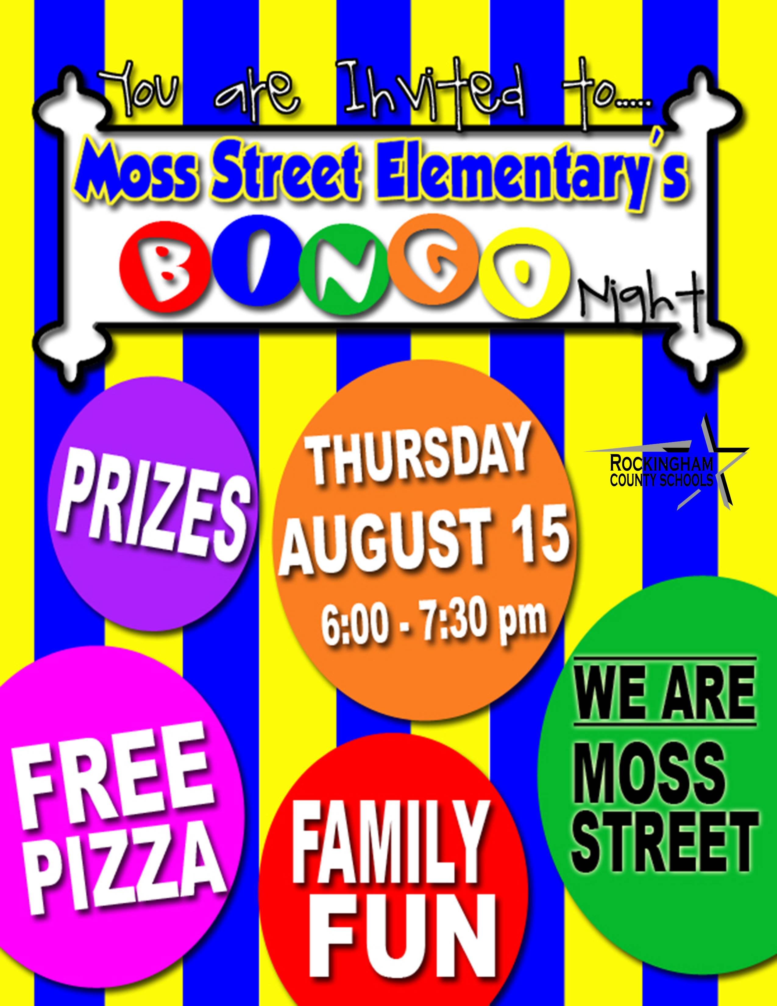 Family Bingo Night Flyer Template
