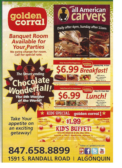 picture relating to Golden Corral Printable Coupons referred to as Golden corral discount coupons november 2018 / Berlin town nissan discount coupons