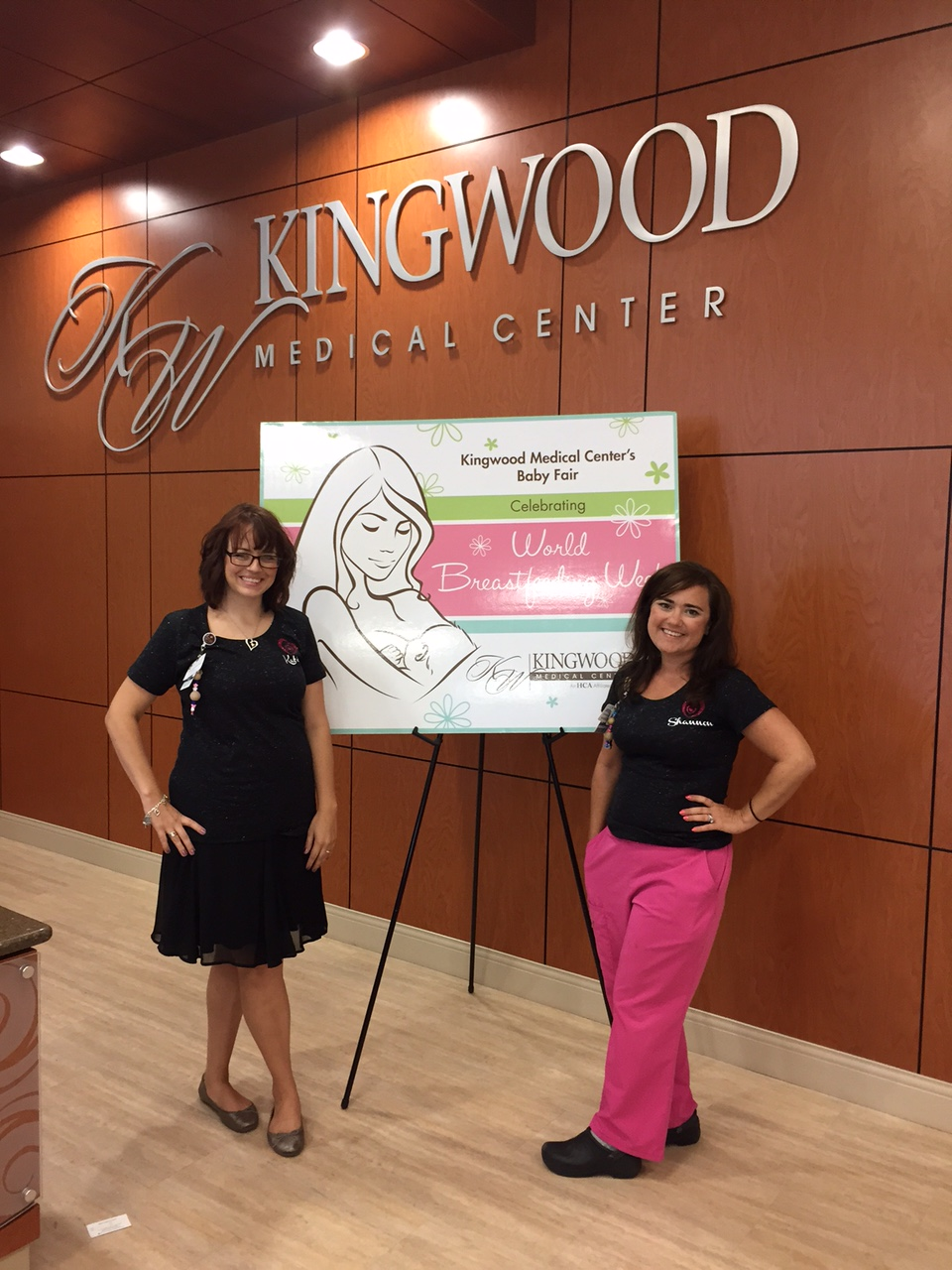 Kingwood Medical Center Celebrates National Breastfeeding Month