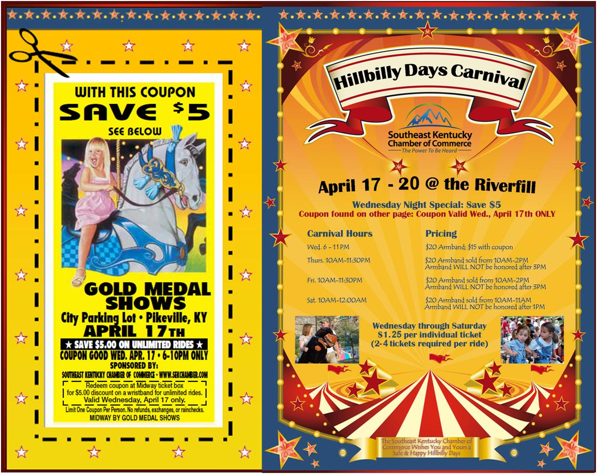 get ready for hillbilly days 2013 southeast kentucky chamber of