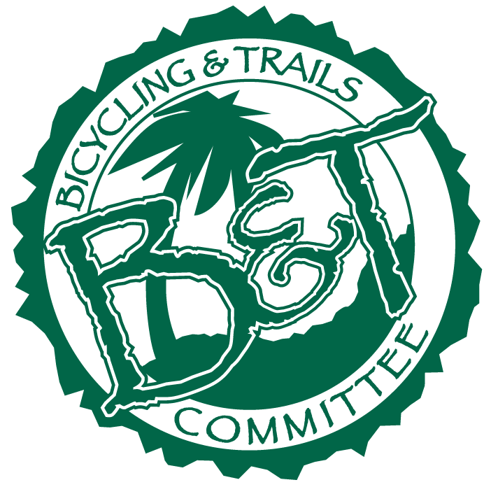 Bicycling & Trails Committee Logo