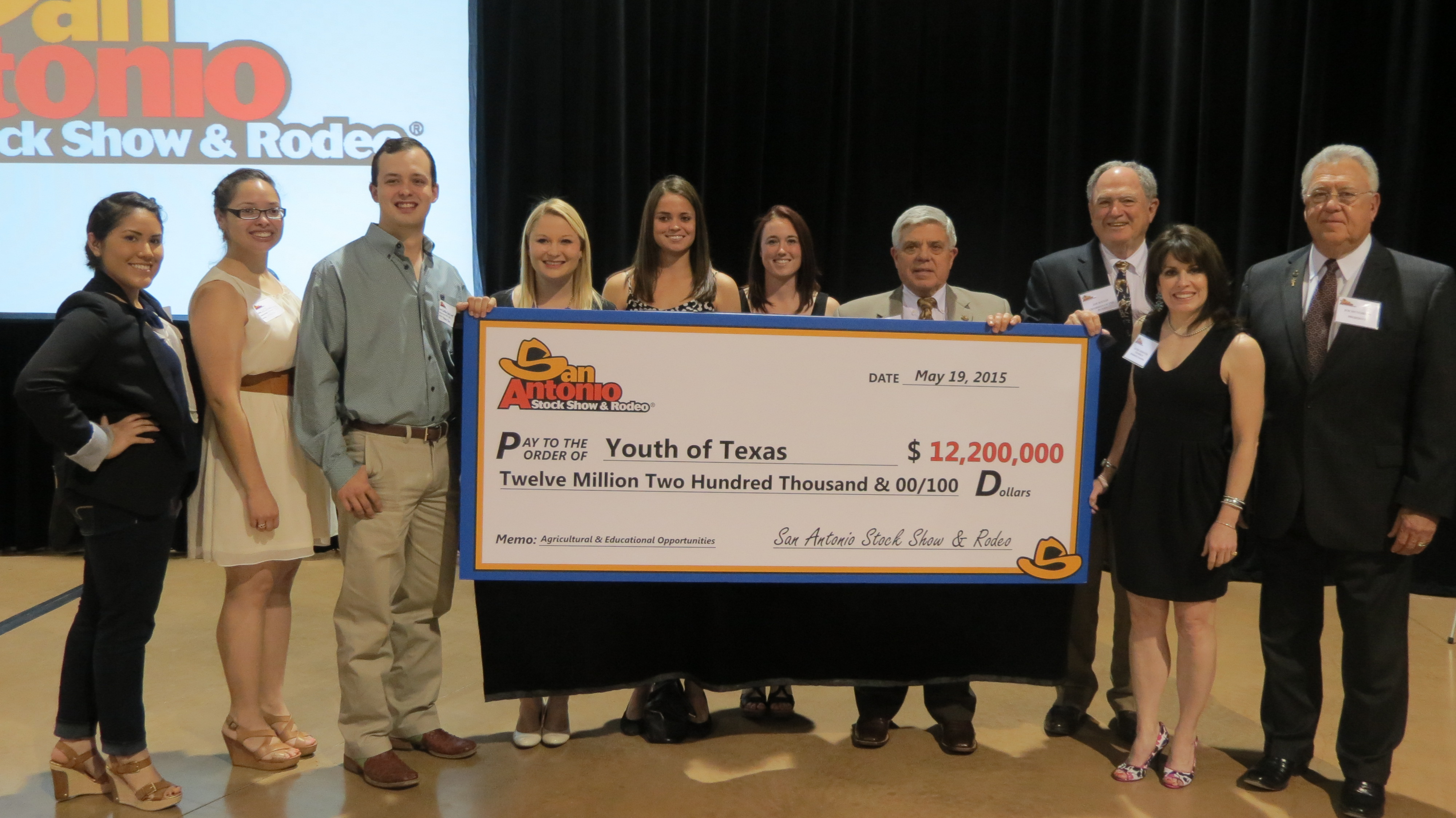 The San Antonio Stock Show Amp Rodeo Contributes 12 2