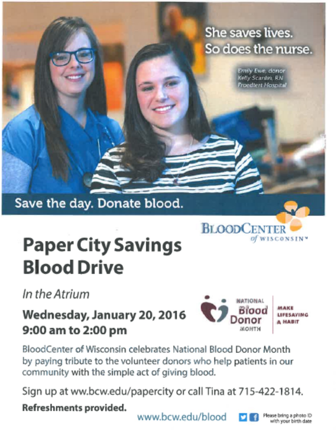 Los Banos Community Blood Drive