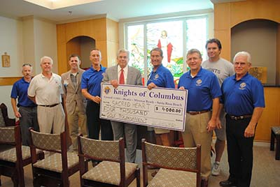 Sacred Heart Hospital on the Emerald Coast - Knights of Columbus