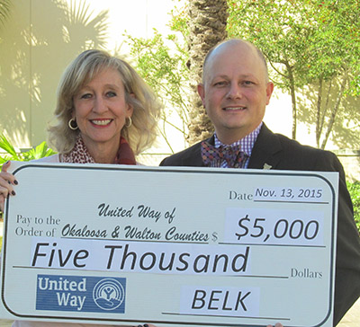 United Way of Okaloosa-Walton Counties - Belk