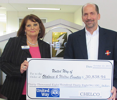 United Way of Okaloosa Walton Counties - Chelco