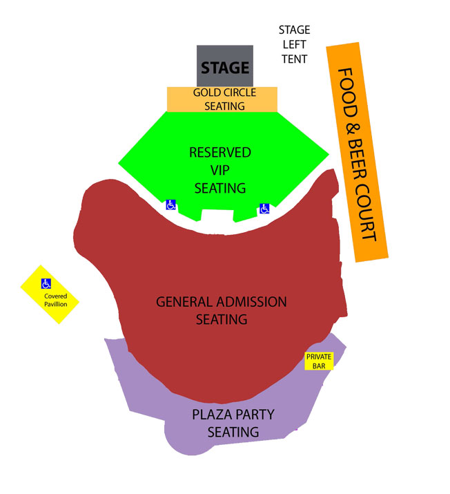 WPJF Seating Map