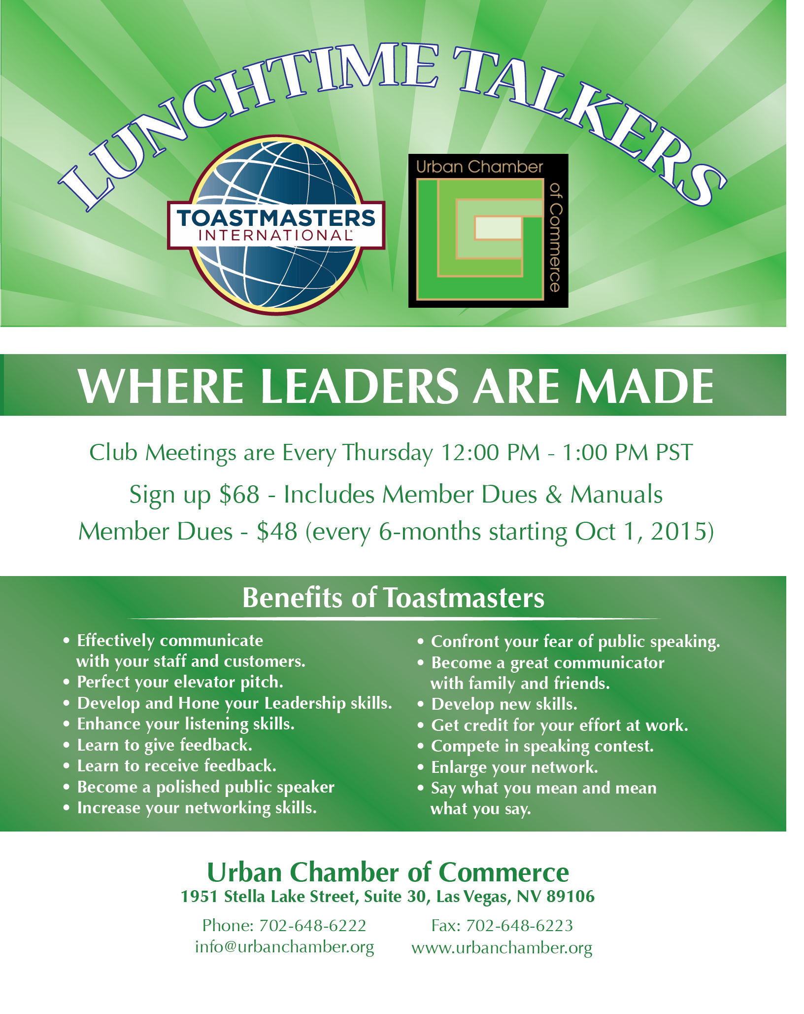 toastmasters lunchtime talkers nov 24 2016 urban chamber of toastmasters lunchtime talkers nov 24 2016 urban chamber of commerce nv