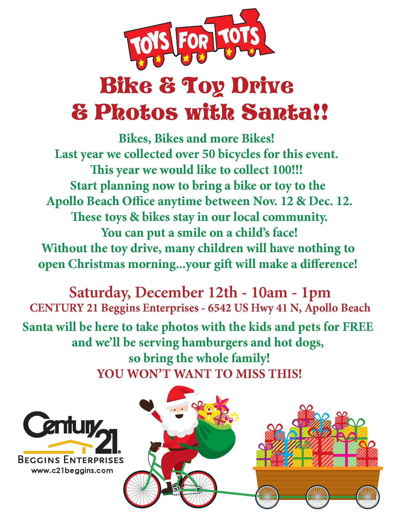 Bikes Toys For Tots Or Bust : Toys for tots bike toy drive dec greater