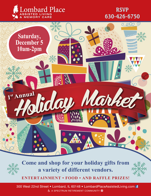 Lombard place holiday market dec 5 2015 publiclayout for Lombard place