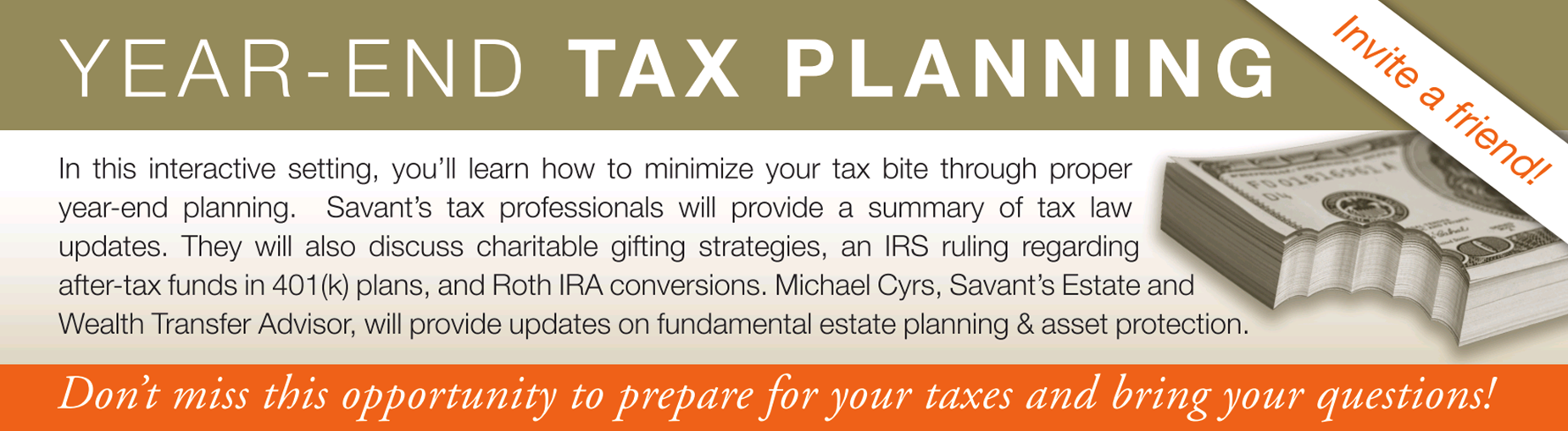 Year-End Tax-Planning Checklist for Small Businesses