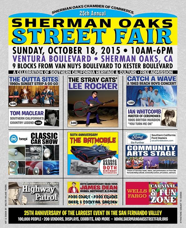 25th Annual Sherman Oaks Street Fair- Sunday, Oct  18th - Sherman
