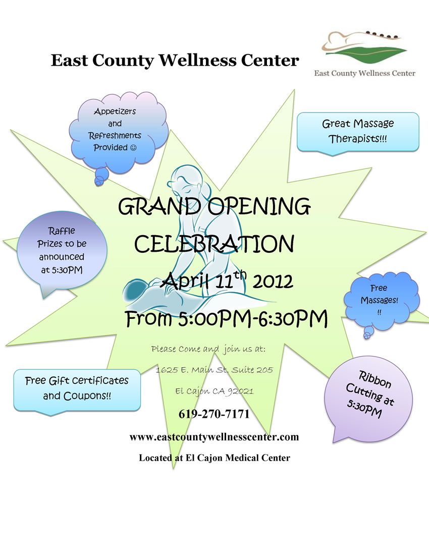 East County Wellness Grand Opening